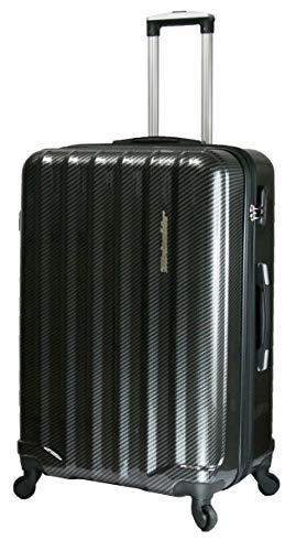 METZELDER Maleta Negro carbono L - Large - 101/117L - 76/48x31cm - 4,6kg