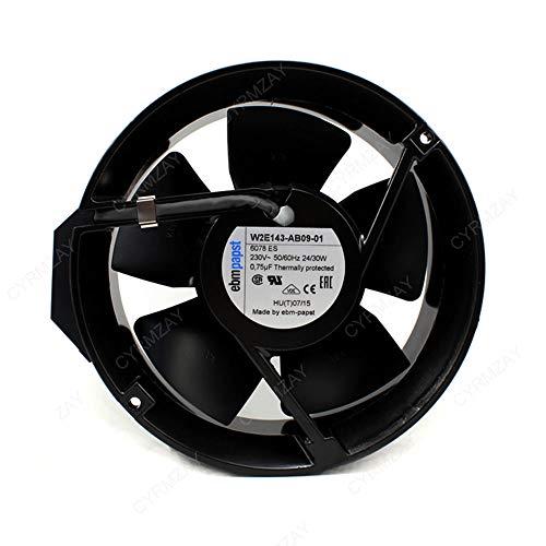 CYRMZAY Compatible para Ebmpapst Ventilador W2E143-AB09-01 Axial Ventilador AC 230V 172 * 172 * 51mm Ventilador