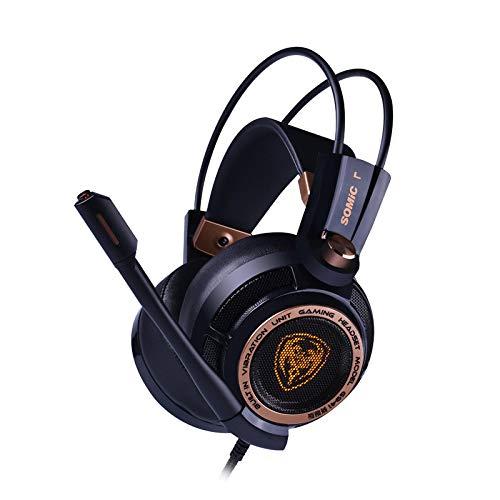 LALAHO Noise Cancelling Kopfhörer Headset Computer 7.1 Gaming-Headset