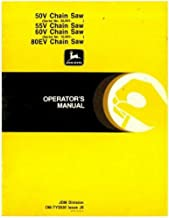 OM-TY3930 John Deere 50V 55V 60V And 80EV Chain Saw Operator Manual
