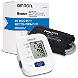 Omron Bronze Blood Pressure Monitor, Upper Arm Cuff, Digital Blood Pressure Machine, Storesup To 14 Readings