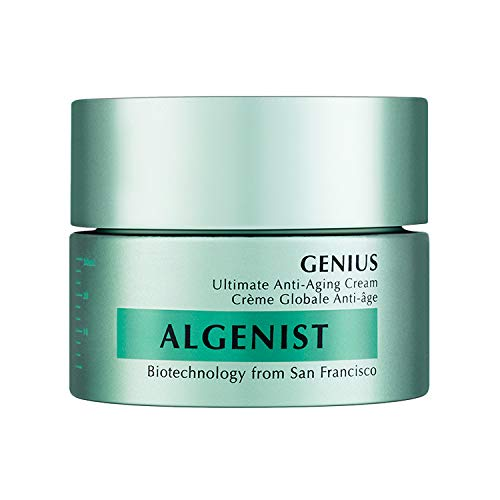 Algenist GENIUS Ultimate Anti-Aging Cream - Vegan Firming & Smoothing Moisturizer with Alguronic Acid & Microalgae Oil - Non-Comedogenic & Hypoallergenic Skincare (30ml / 1oz)