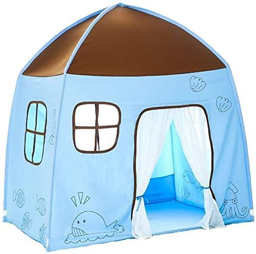J+N Kinderspielzelt/Kinderzelt, Baby-Spielzeug-Gemälde Spiel-Haus-Spielzeug-Raum Innen Außen Großes Haus Schloß Geburtstag/Outdoor Kinderzelt (Size : 150 * 100 * 150CM)