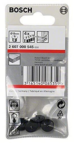 Bosch 2 607 000 545 - Set de 4 posicionadores de tacos, 8 mm