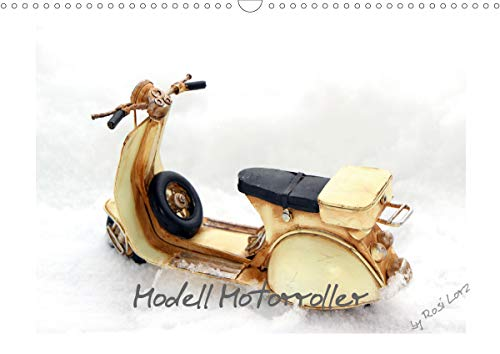 Modell Motorroller (Wandkalender 2021 DIN A3 quer)