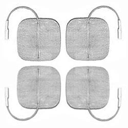 Globus G0136, electrodos Myotrode Platinum 50 x 50 (4 Unidades) Unisex Adulto, Plata
