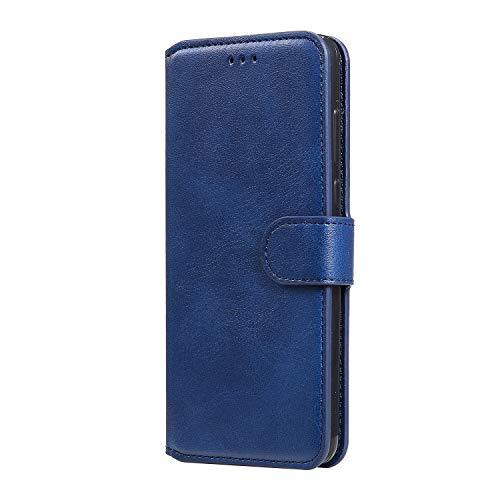 Hülle für Huawei Honor 9X Lite Handyhülle Schutzhülle Leder PU Wallet Bumper Lederhülle Ledertasche Klapphülle Klappbar Magnetisch für Huawei Honor 9X Lite - ZIYY010483 Blau