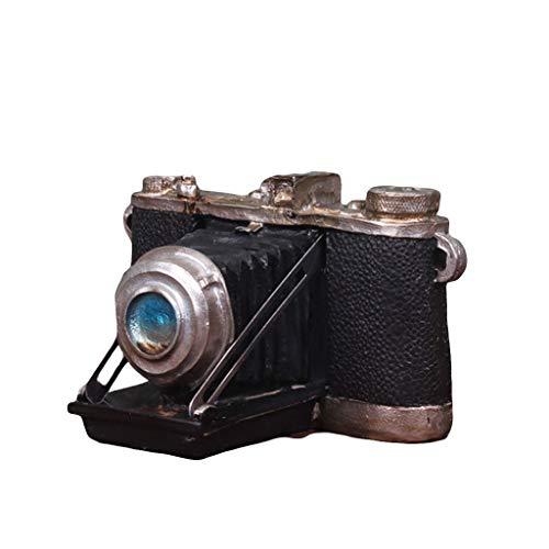 Figurines JXLBB Amerikaanse Land Retro Oude Camera Melk Thee Kleding Koffie Shop Raam Display Props Decoraties Ornamenten