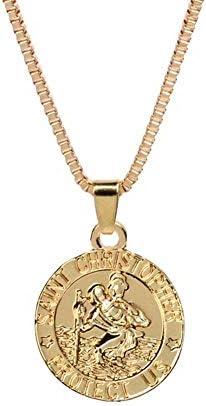 2 pendant patron saints 26 x 16 mm silver-coloured metal pendant