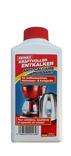 Entkalker sehr kräftig - 250ml Konzentrat 1:10 - deutsches Produkt - für Kaffeemaschinen und Kalkablagerungen