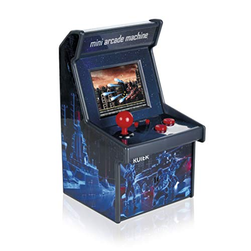 RUIER Mini Arcade Machine Home Handheld Video Game with 200 Built-in Games Real 16-bit HD Resolution Classic Portable Console Latest Upgraded System Valentines Day Gift for Him Boys Son