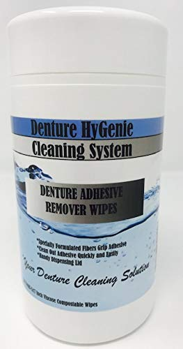 Denture Adhesive Super beauty product restock quality top! Remover Wipes Trust