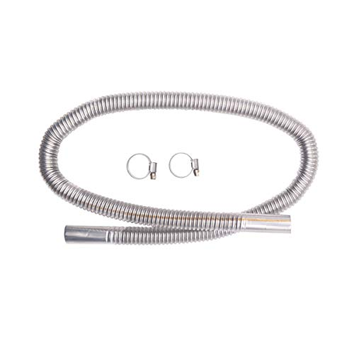 Parking Air Heater Stainless Exhaust Pipe with Clamps 120cm