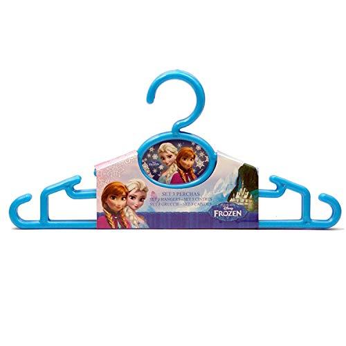 Générique - 3 Lot de 3 Cintre en Plastique Frozen Reine des NEIGES Disney - Rangement - 046