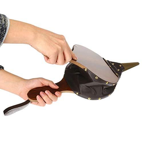 Affordable Hvlystory Wooden Bellows Fireplace Air Blower Hand Bellow Pump for Fireside Tools