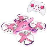 ZHCJH Mini Drone para niños helicóptero de Control Remoto con 2.4G 4CH Modo sin Cabeza Una tecla Retorno Juguetes voladores para niños Interacción de niñas