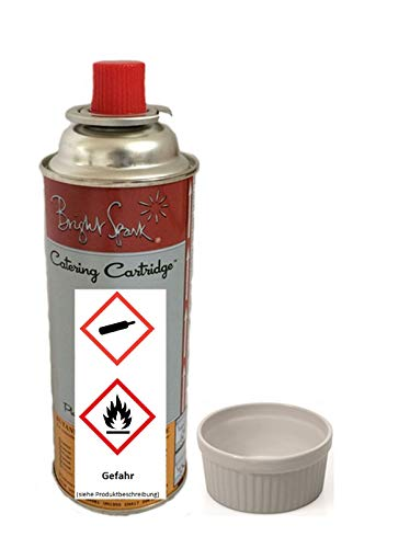 Butangasflasche 220 g für Crème Brûlée Gasbrenner Profiausführung