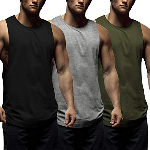 Slim FIT Komprexx Tank Top Men Gym Stretchy Sleeveless Shirts Muscle Summer Sports Vest Tops