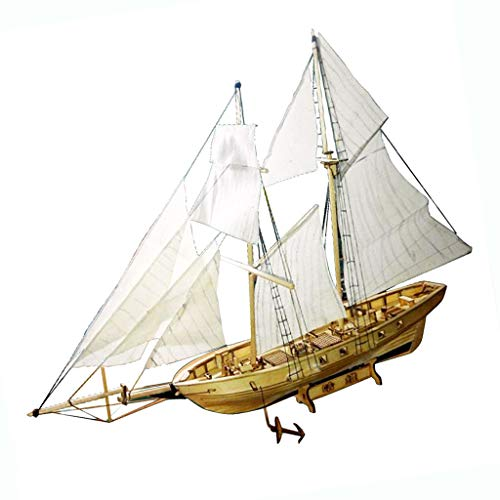 Maqueta De Madera Escala 1/130 Kit De Velero Harvey Ship