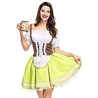 GORGEOUS BEER GIRL FANCY DRESS - Tenue polyvalente et coquette parfaite pour la bière Girl d'Oktoberfest, Heidi, la jeune fille, le carnaval et Halloween ..... Notre équipe de sécurité interne dédiée s'assure que tous nos produits sont fabriqués et r...
