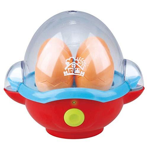 Bavaria Home Style Collection Spielzeug-Eierkocher mit Zubehör - mit 4 Eier - Egg Cooker Küchenspielzeug mit Sound - Kinder Spielzeug ab 3 Jahre - Geschenk Idee Geburtstag , Ostern , Weihnachten
