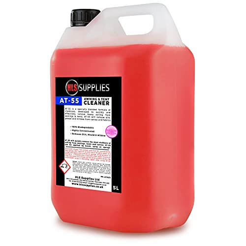 HLS Supplies AT-55 Awning & Tent Cleaner 5L (Bubblegum Scented)