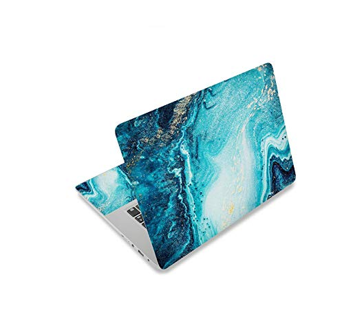 New Marble laptop skin 10 13 13.3 15 15.4 15.6 17 17.3 Universal Laptop Skin Cover Sticker Decal-Gold-14'