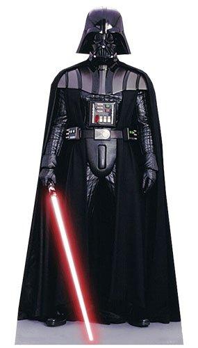 Unbekannt Darth Vader 195cm Lebensgröße Pappaufsteller