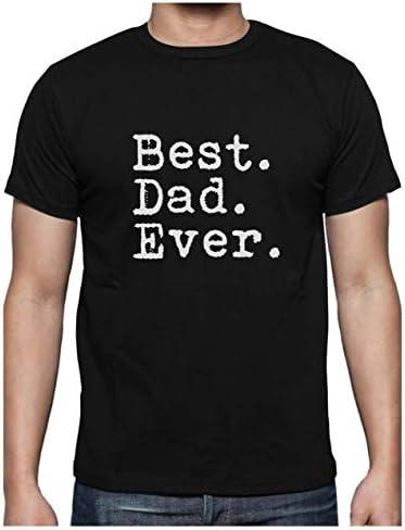 Regalos para Padres. Camisetas Hombre Originales Divertidas Best Dad Ever