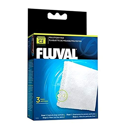 Fluval C2 Poly Foam Pad - 3-Pack