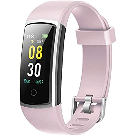 YAMAY Smartwatch Orologio Fitness Tracker Uomo Donna Pressione Sanguigna Smart Watch Cardiofrequenzimetro da Polso Contapassi Smartband Sportivo Activity Tracker per Android iOS Xiaomi Huawei Samsung