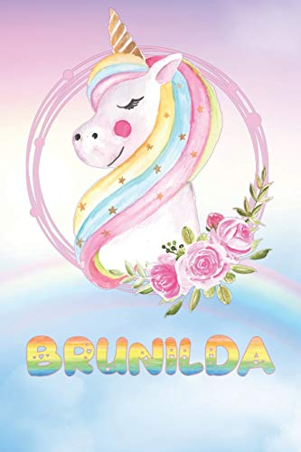 Brunilda: Want To Give Brunilda A Unique Memory & Emotional Moment? Show Brunilda You Care With This Personal Custom Named Gift With Brunilda's Very ... Be A Useful Planner Calendar Notebook Journal