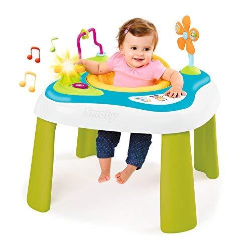 Smoby - Cotoons Youpi Baby - Table d'Eveil - Siège Déhoussable et Lavable - pour...