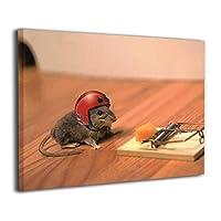 Skydoor J パネル ポスターフレーム ネズミとチーズ インテリア アートフレーム 額 モダン 壁掛けポスタ アート 壁アート 壁掛け絵画 装飾画 かべ飾り 30×40