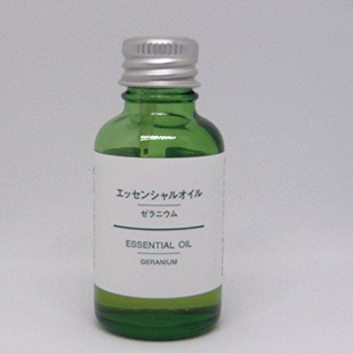 【無印良品】エッセンシャルオイル 30ml (ゼラニウム)