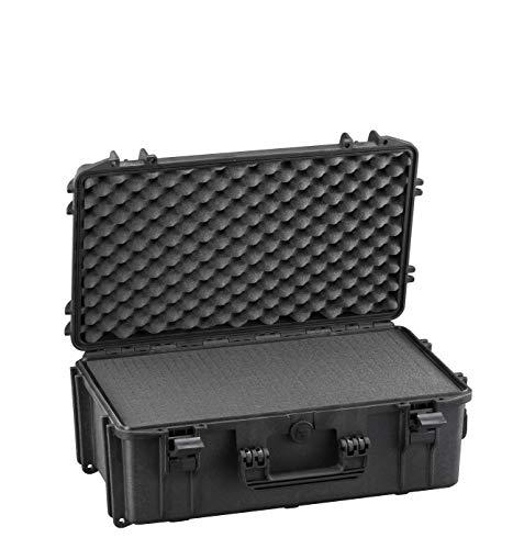 Max MAX520S IP67 resistente al agua nominal de tapas rígidas para fotografía equipo estanca resistente de transporte de plástico y caja de transporte para iMac caja de herramientas