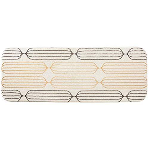 Ofgcfbvxd Carpet Sofá Cama Sofá Sala de Estar Beige Rectángulo Ultra Suave Silla Sillero Área de Cubierta Alfombra Bedside Carpet (Color : White, Size : Small) ✅