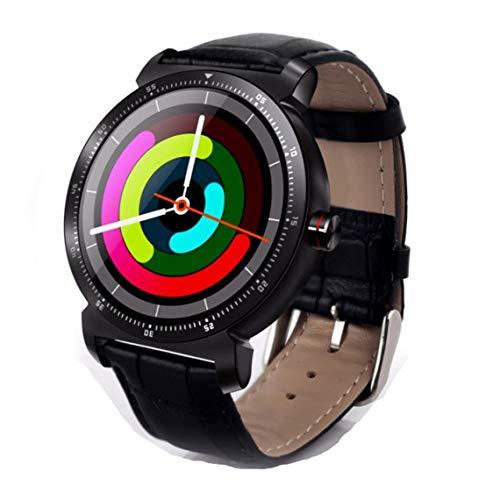 Zinniaya K88H Plus Intelligent polshorloge hartslagmeter stappenteller fitness ronde wijzerplaat smartwatch voor Android iOS