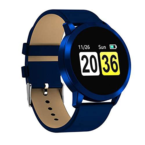 Gymqian Nuevo Q8 Oled Bluetooth Smart Watch Smart Acero Impermeable Impermeable Dispositivo Wearablewatch Reloj de Pulsera Hombres Mujeres Fitness Tracke, C Exquisito/G