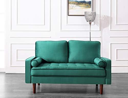 Best US Pride Furniture Love Seats, Loveseat, Green