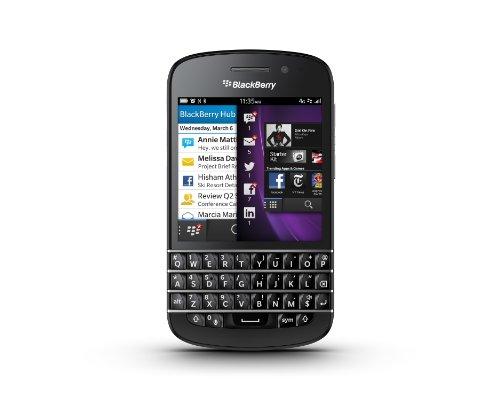 """BlackBerry Q10 PRD-53409-001 - Móvil libre (pantalla de 3,1"""", cámara 8 Mp, 16 GB, 2 GB de RAM), negro"""