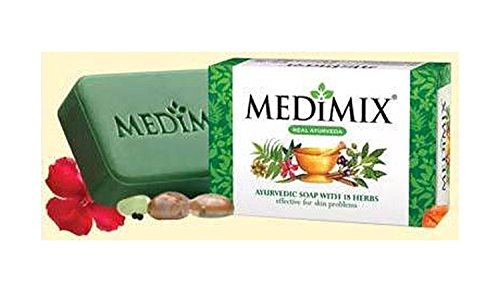 Medimix Ayurvedic Herbal Soap: clinical proven for treating acne, body odour ...