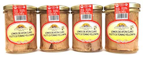 Atún Claro en Aceite de Oliva COSTA VASCA - 200g - [4 unidades]