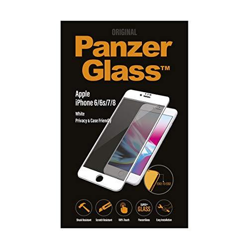 PanzerGlass PG iPhone 6/6s/7/8, White Privacy–Protector de Pantalla