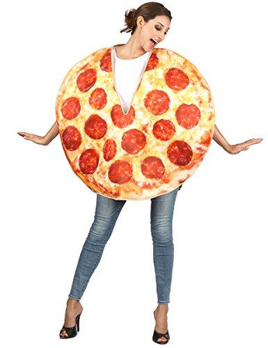 Generique - Disfraz Pizza Chorizo Adulto Talla única (42)