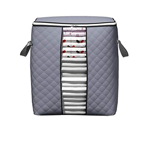 SXET Quilt Storage Bag Sorting Bag Clothes Quilt Storage Box Mobile Luggage Packaging Moisture-proof Storage Vertical Section