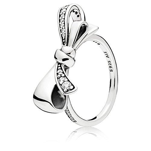 Pandora Damen-Ringe 925 Sterlingsilber zirkonia '- Ringgröße 52 (16.6) 197232CZ-52