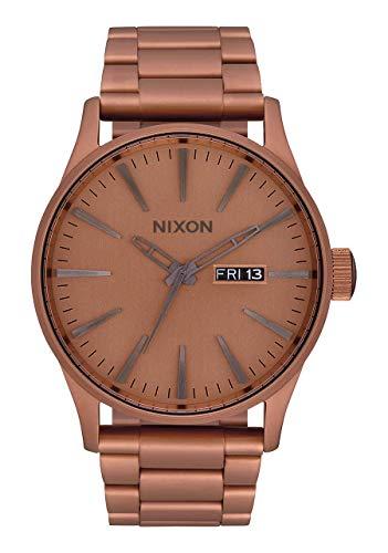 Nixon Orologio Analogico Quarzo Uomo con Cinturino in Acciaio Inox A356-3165-00