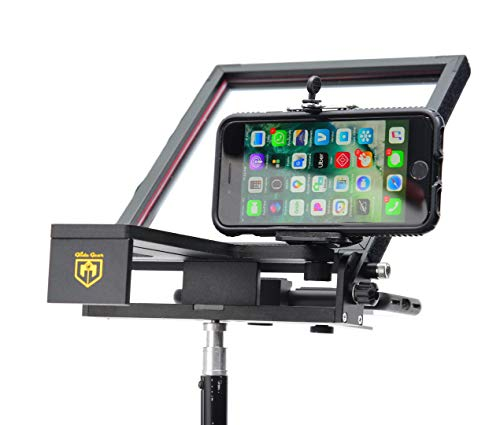 "commercial Glide Gear TMP5010 ""Smartphone Mini Tripod Teleprompter"" teleprompters"