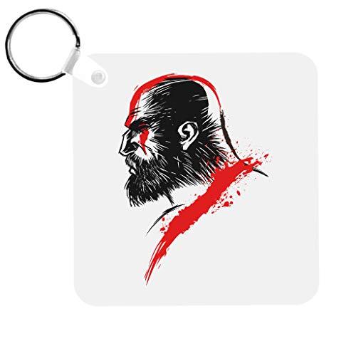 God van de oorlog Kratos Sleutelhanger